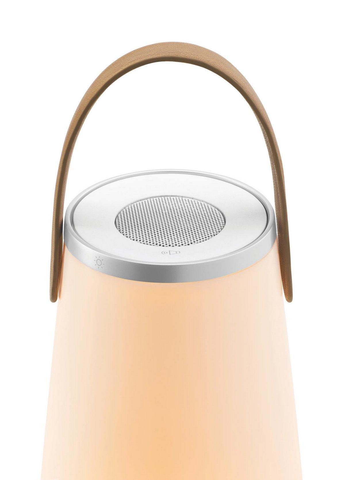 Портативный фонарь с динамиком