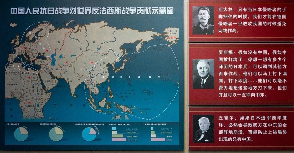 Зоны боевых действий стран антигитлеровской коалиции