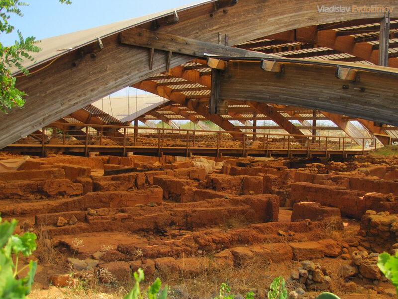 Раскопки дворец Малии