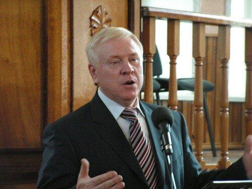 председатель РС ЕХБ Алексей Васильевич Смирнов