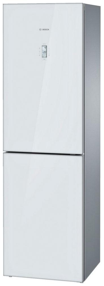 BOSCH серия Кристалл - дверь из цветного стекла - супер заморозка Nofrost - магазин холодильников в Краснодаре