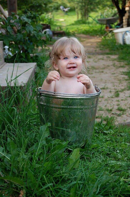 купание малыша