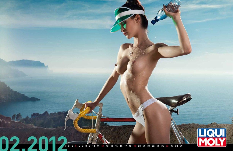 Liqui Moly - эротический календарь на 2012 год - февраль