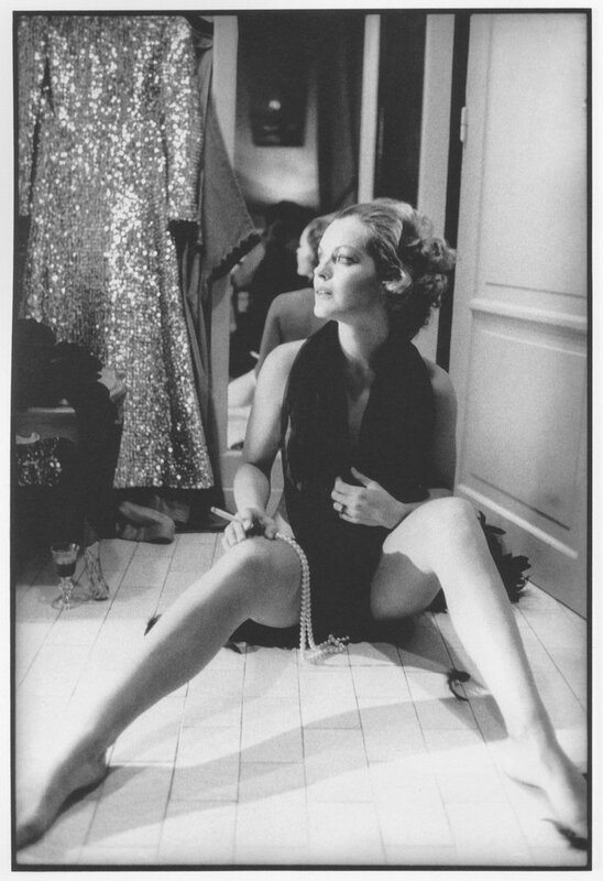 Romy Schneider by Giancarlo Botti, Paris 1974
