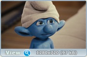 Смурфики / The Smurfs (2011) BDRip + HDRip