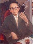 Гольденблюм А.М., директор Омского музея изобразительных искусств. 1960г. худ.А.А.Бутюгов