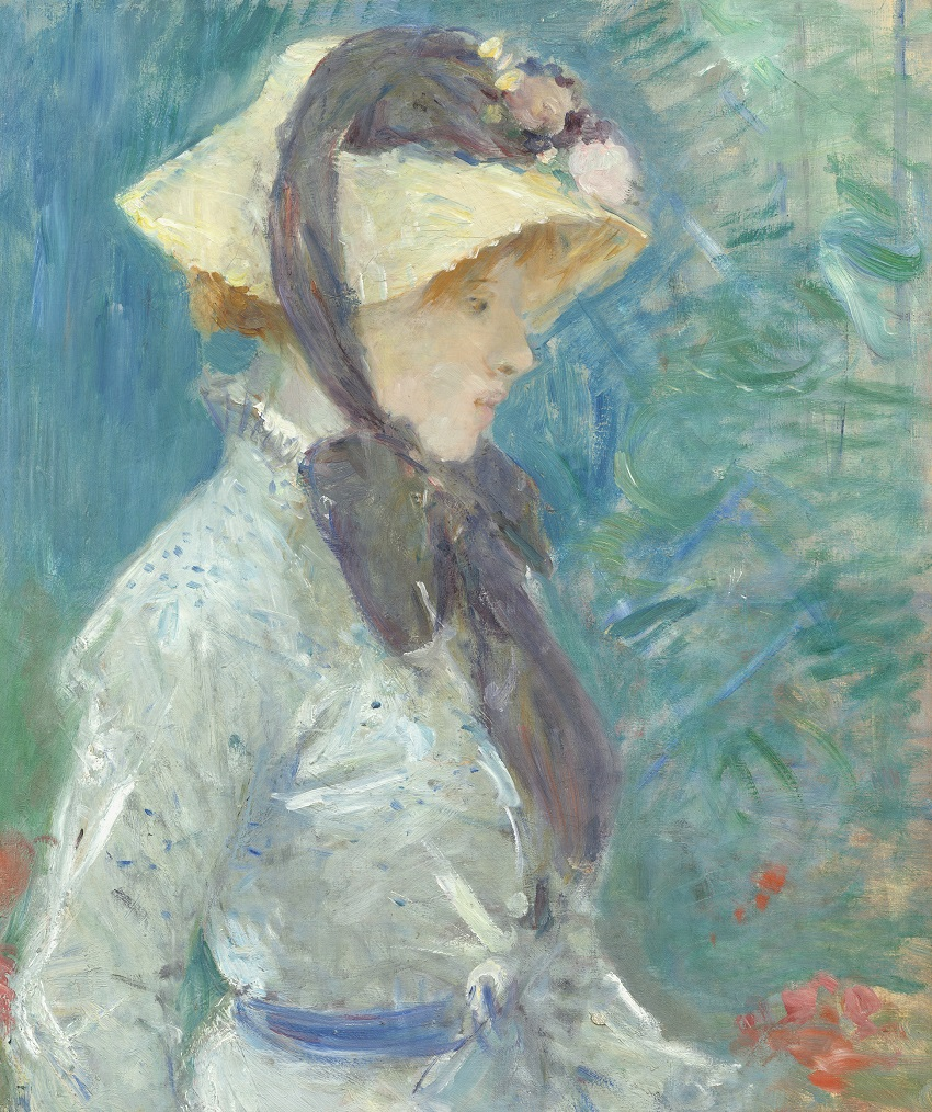 Young Woman with a Straw Hat, 1884