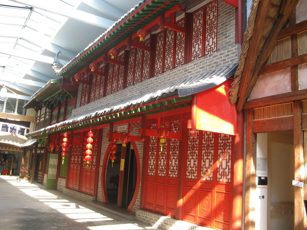 Улица Мира. Китай.