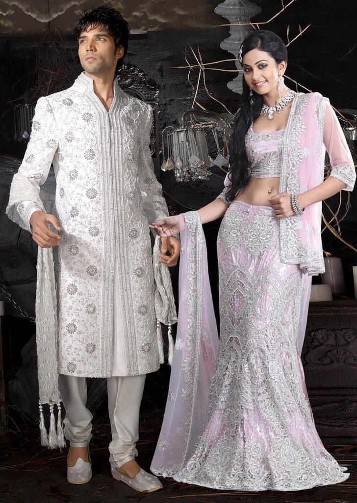 Индийские свадебные костюмы