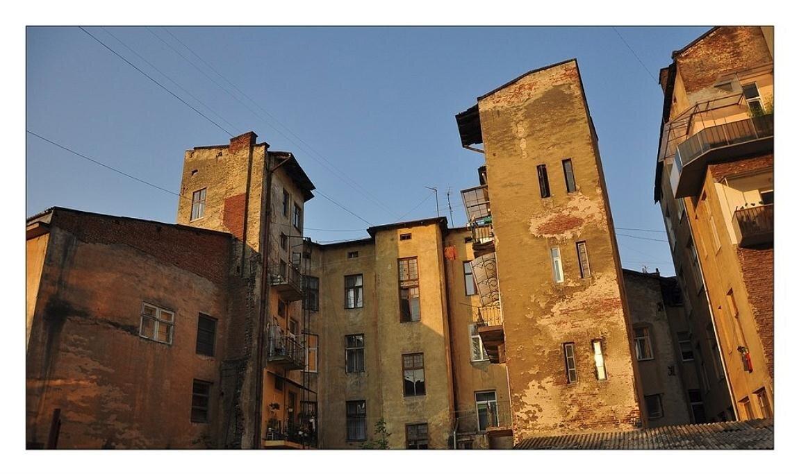 утро в городе Львов