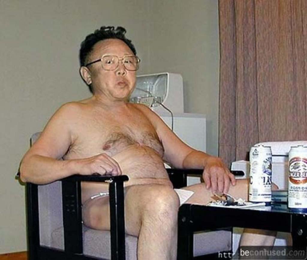 Корейский диктатор. Президент Северной Кореи Ким Чен Ир.