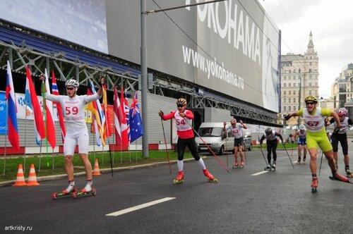 Москва, марафон мира.