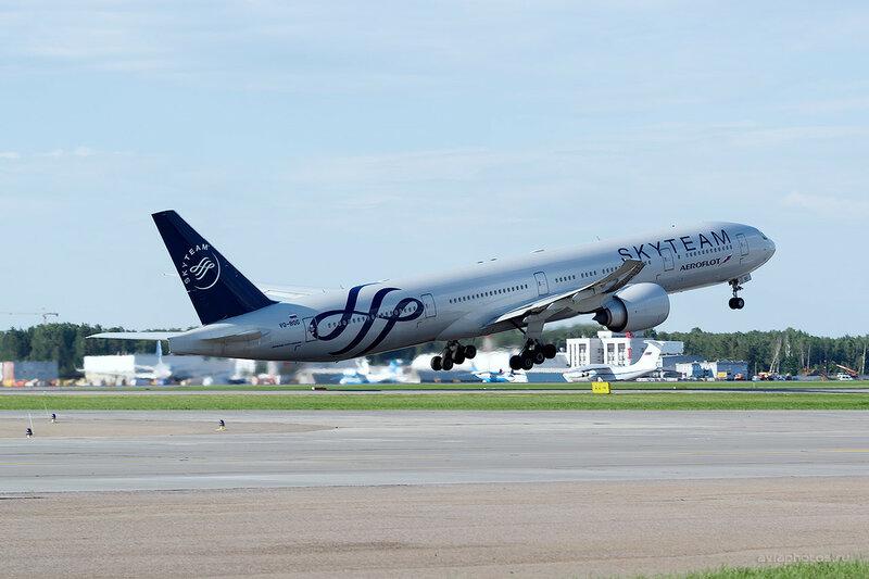 Boeing 777-3M0/ER (VQ-BQG) Аэрофлот D809298