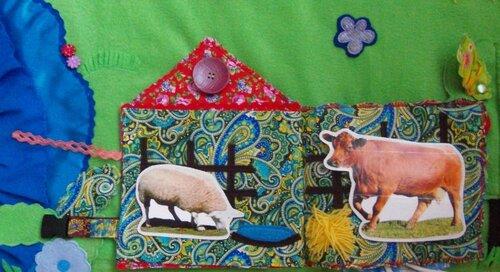 Развивающий коврик Семьландия... Волшебный домик для домашних животных
