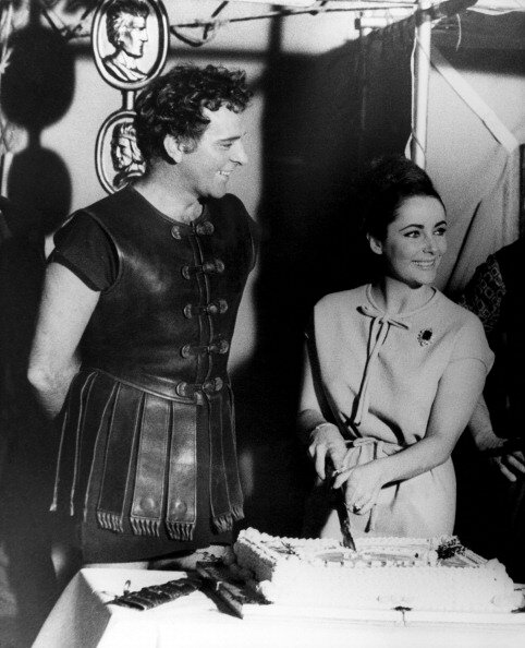 Elizabeth Taylor Celebrates her 31 st Birthday at Pinewood Studios