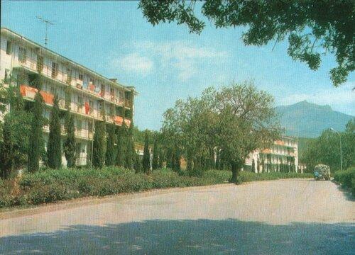 Крым. Алушта. 1971. Турбаза «Чайка»
