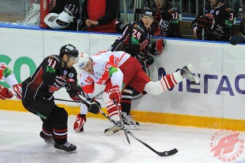 Авангард - Спартак 4:3 24-09-2011
