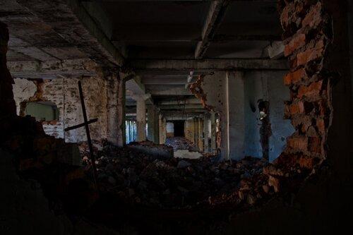 Заброшенный завод ХИМВОЛОКНО, Саратовская область