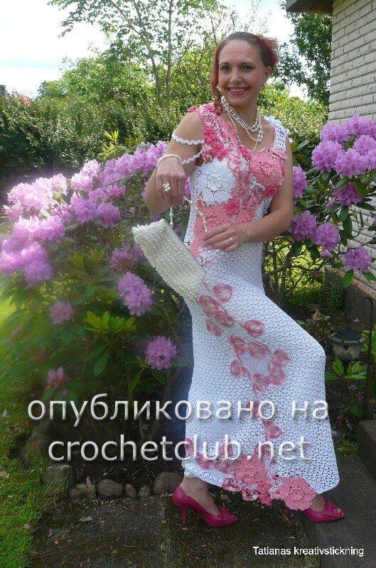 Вечерние Платья Крючком