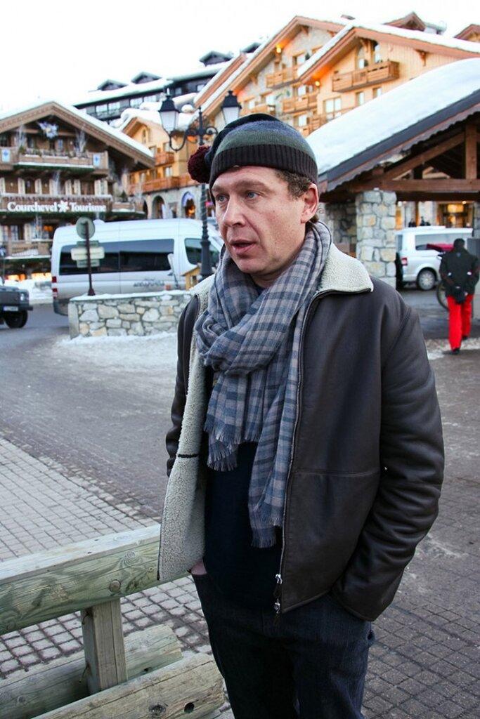 Бизнесмен Александр Мамут (43-е место в последнем рейтинге Forbes) на отдыхе в Куршевеле, 2009 год