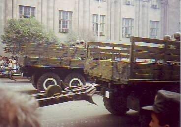 Военный парад в Ереване. 21.09.1996