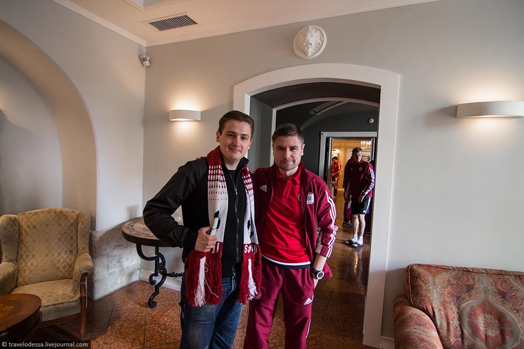 Почему я болею за сборную Латвию