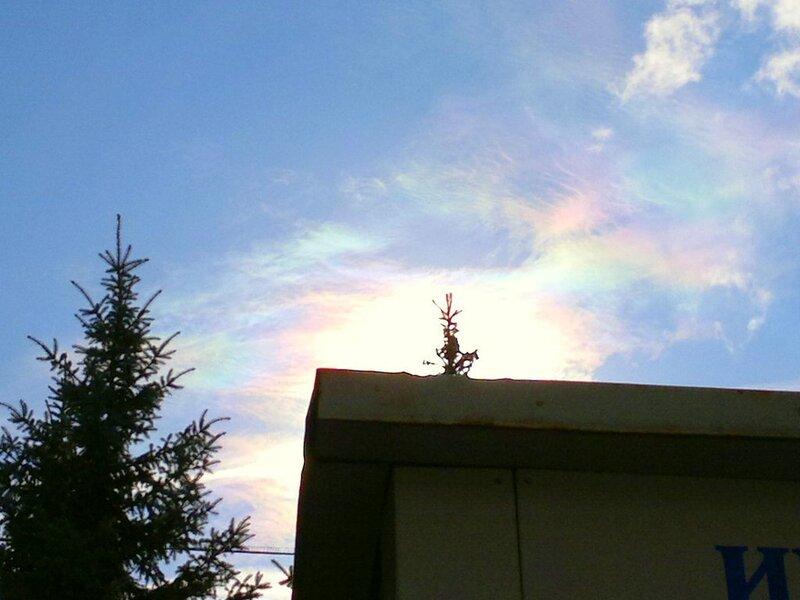 Радужные облака 2011.09.28  12:38