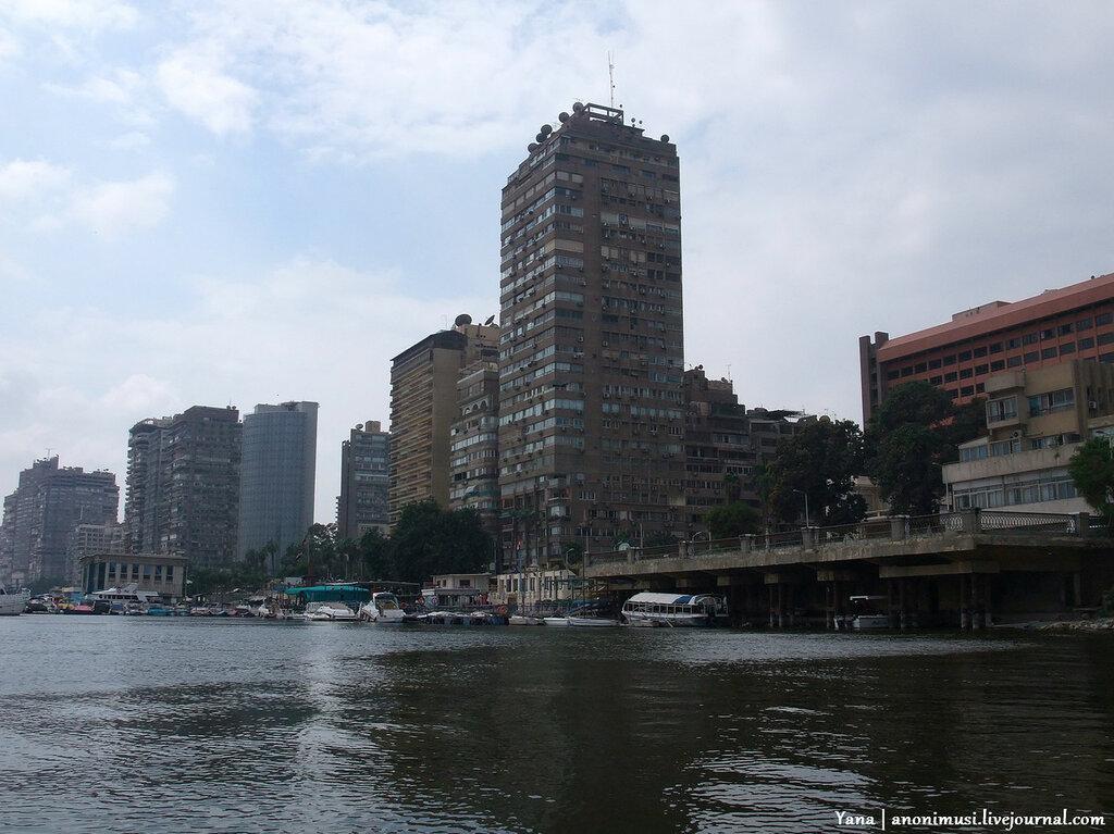 Прогулка по Нилу. Каир. Египет