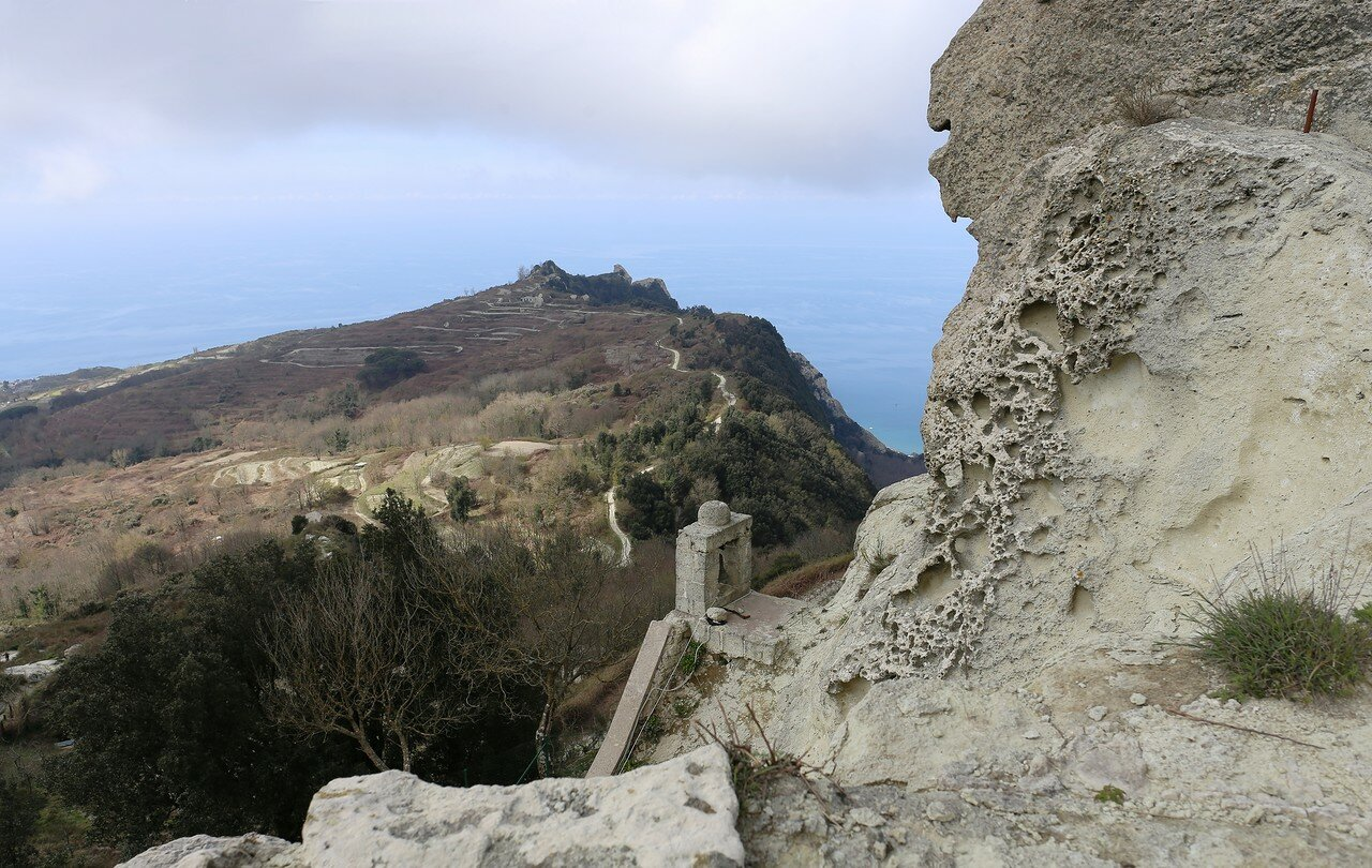 Ischia. On the top of Monte Epomeo
