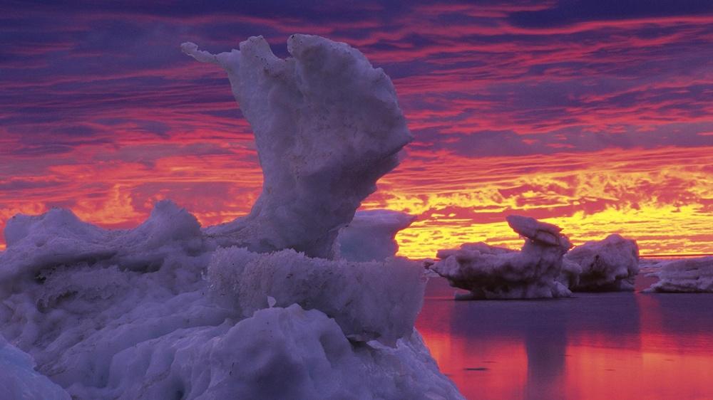 Гудзонов залив, Канада.