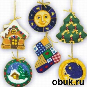 Журнал Коллекция схем вышивки по тематике Рождество