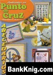 Журнал Ambientes en Punto de Cruz 01 jpg 16,18Мб