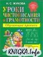 Книга Уроки чистописания и грамотности