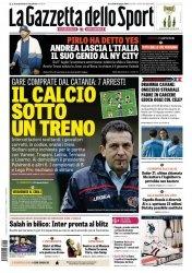 Журнал La Gazzetta dello Sport  (24 Giugno 2015)