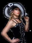 Девушки в шляпах 0_8651f_38833387_S