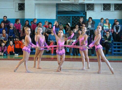 Рождественские встречи по художественной гимнастике
