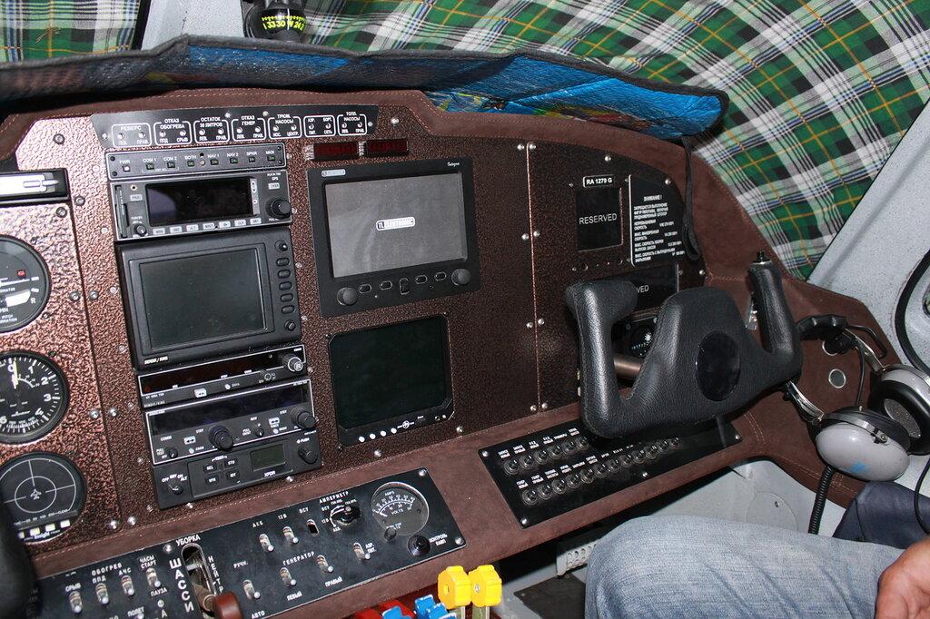 Ла-8 приборная панель