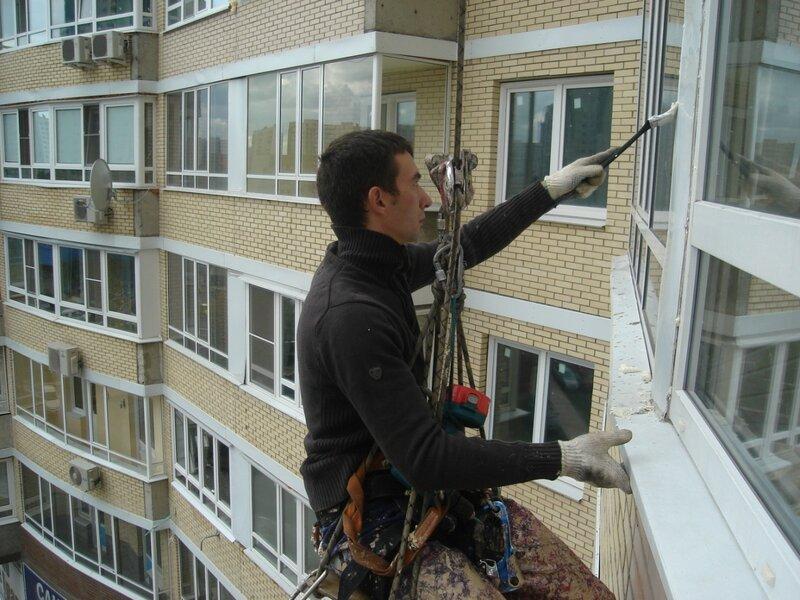 Герметизация межпанельных швов лоджий и балконов в юзао буто.