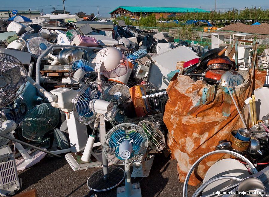 Япония: Свалка старой техники