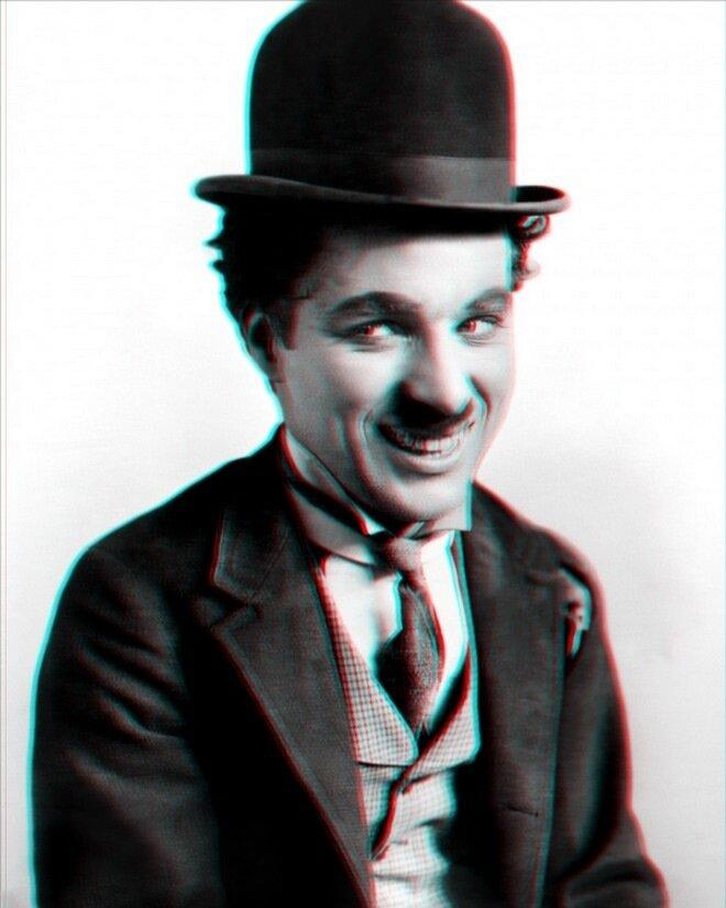 Чарли Чаплин в 3D