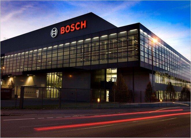 Завод Bosch по производству микросхем для техники