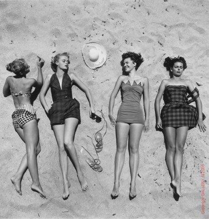 Я вообще без ума от стиля 50-х, а тут нашла вот такую фотографию и млею.