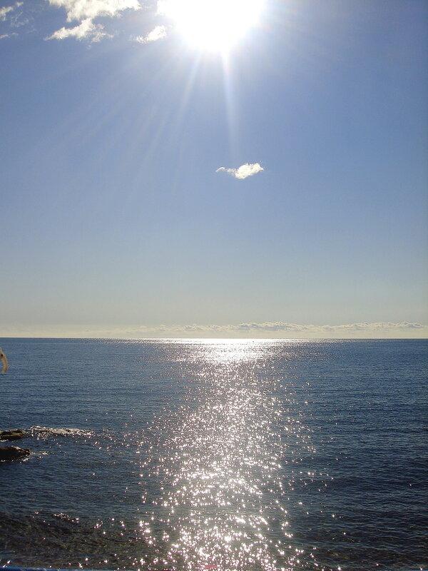 Крым,Симеиз,осень,у моря