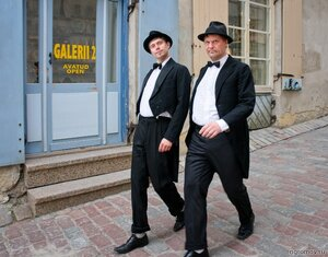 Эстонские граждане (костюм, пара, человек)