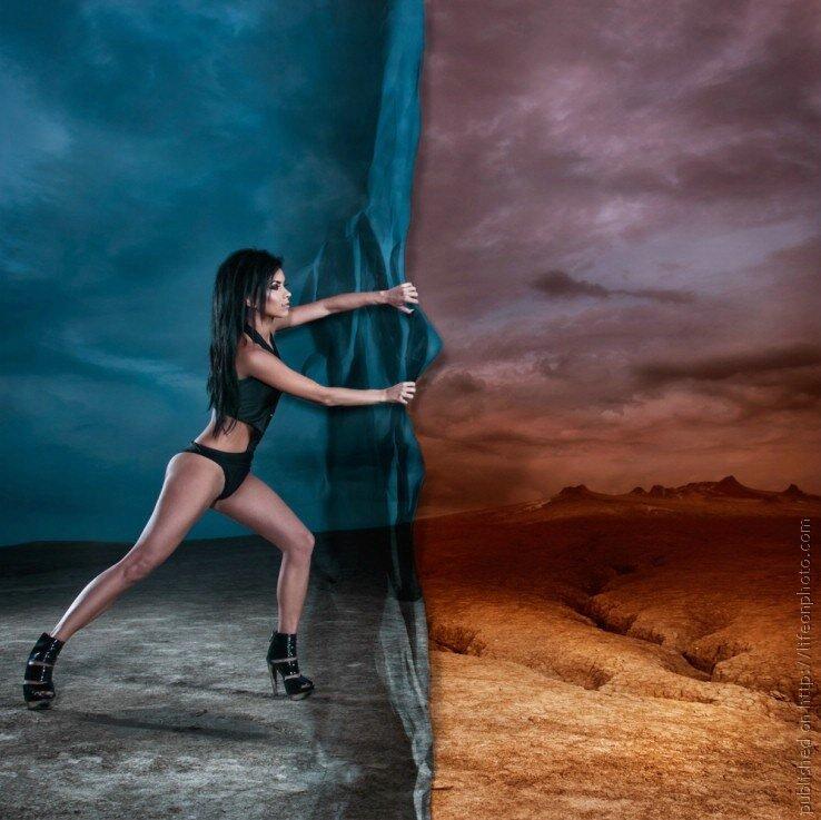 Креативный фотограф Edward Aninaru