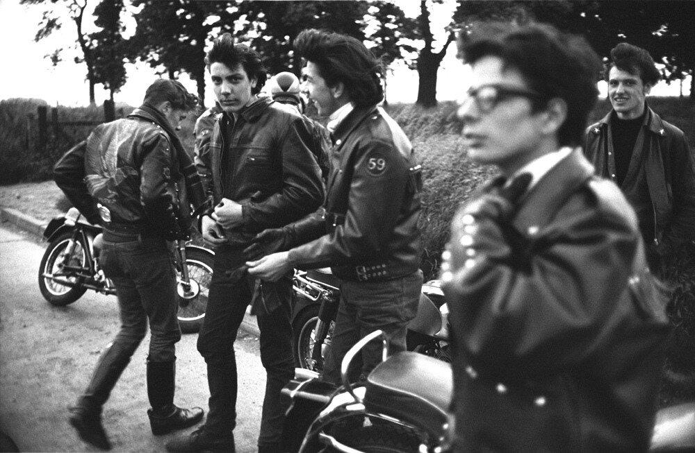 John 'Hoppy' Hopkins.Bikers