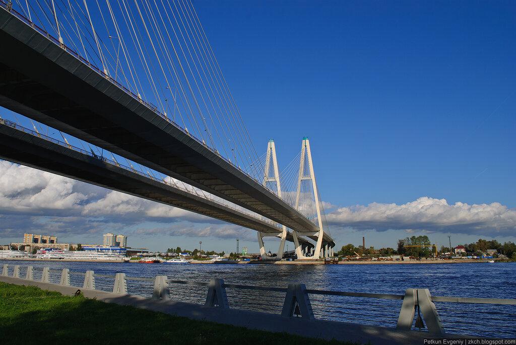 Автор: Петкун Евгений, блог Евгения Владимировича, фото, фотография: Большой Обуховский мост.