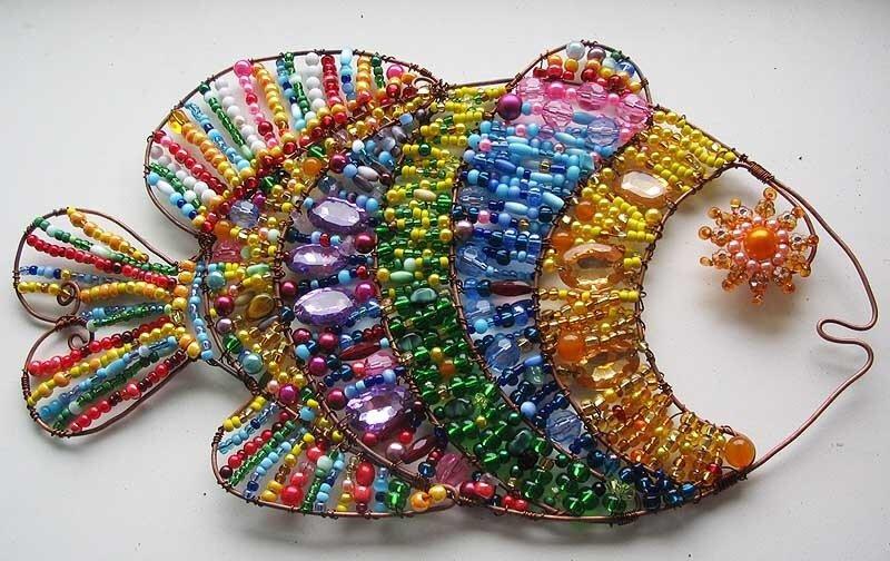 Вот ещё чудная рыбка из