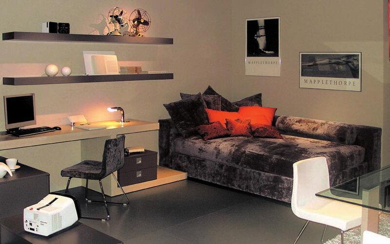 Gab – интерьеры и мебель для молодого поколения от Tiziana e Giuseppe Mascheroni (Италия)