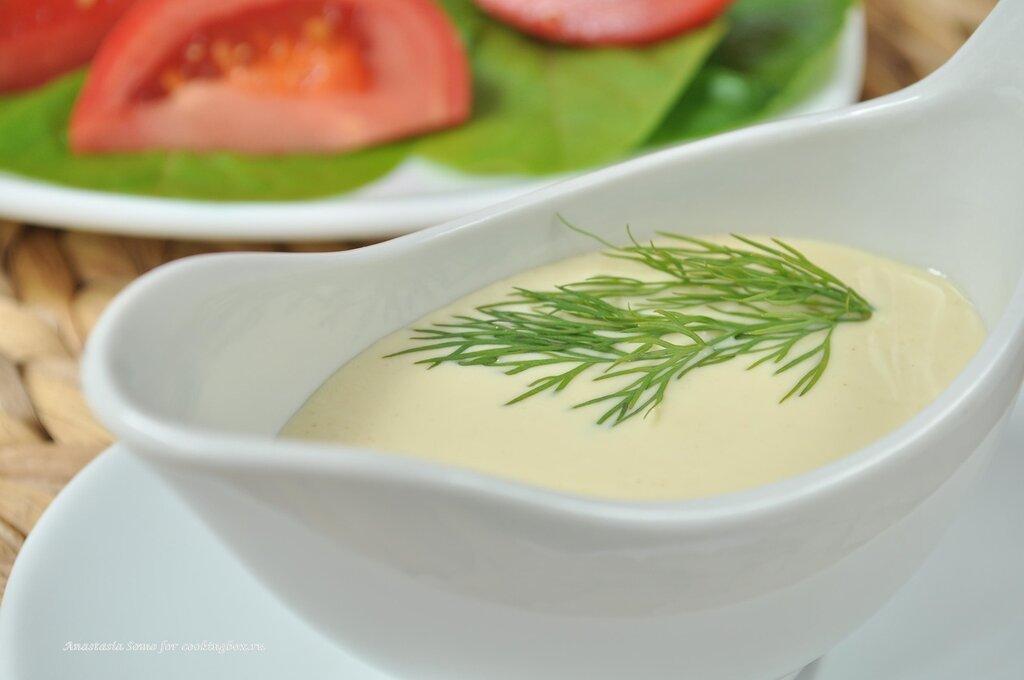 Соус к теплому салату